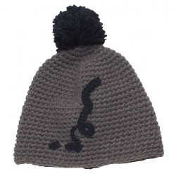 "12tcio02  - ION Mütze ""Bobble Beanie"" steel grey"