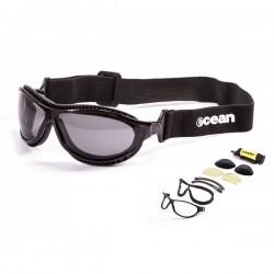 """ocean12200.1  - Ocean Wassersportbrille """"Tierra de fuego"""" shiny black"""
