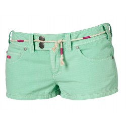 "14tdmy30 Mystic Damen Walkshort \""Checking Out\\"" Paradise green"
