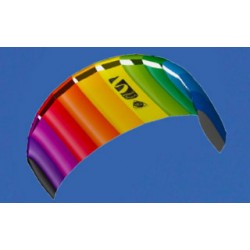 "14DLHQ07 HQ Powerkites \""Symphony Beach\\"" Rainbow"