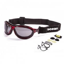"ocean12200.4 Ocean Wassersportbrille \\""Tierra de fuego\\"" red"
