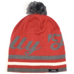17tph12 Pally`Hi Mütze Beanie PimPom heather bordeaux 29.00 CHF