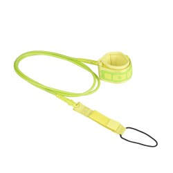 48700-7058  - ION Surfboard Core Leash green 7'