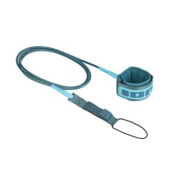 48700-7058  - ION Surfboard Core Leash petrol/turquoise 7'