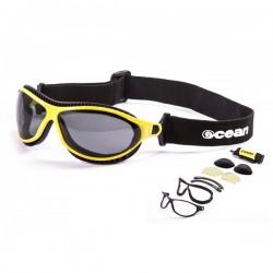 """ocean12200.7 Ocean Wassersportbrille \\""""Tierra de fuego\\"""" yellow"""