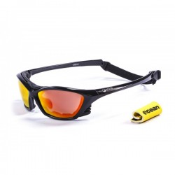 ocean13001.1  - Ocean Wassersportbrille Lake Garda shiny black revo
