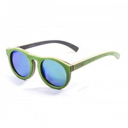 ocean54002.2  - Ocean Bamboo Sonnenbrille Fiji green revo