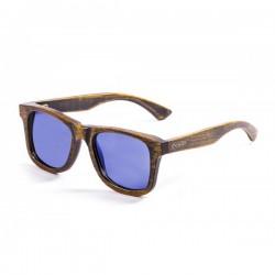 ocean53002.0-b-3  - Ocean Bamboo Sonnenbrille Nelson blackbrown revo blue