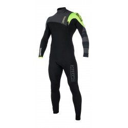 35000.170260 Mystic Majestic Fullsuit 3/2mm Zipfree Black/Lime