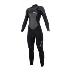 Mystic Gem Fullsuit 5/3mm Fzip Women Black