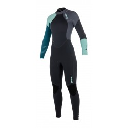 Mystic Dutchess Fullsuit 5/4mm Bzip Women Teal
