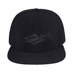 Naish Cap Snapback Black Diamond Script