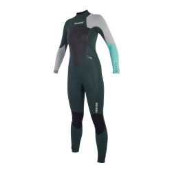 Mystic Star Fullsuit 5/4mm Bzip Women Teal