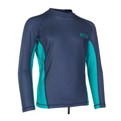 48902-4244  - ION Capture Rashguard Boys LS blue/golf green