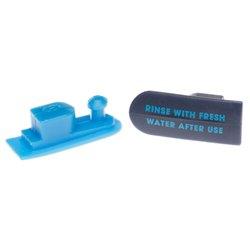 44700-8175  - 44900-8182 - Rubber Plug Pair (Click Bar) - blue-orange