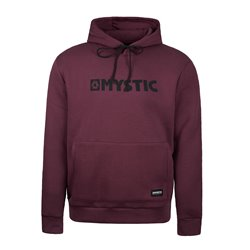 35104.190035.322  - Mystic Brand Hood Sweat oxblood red
