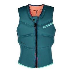 35005.200111.695  - Mystic Diva Impact Vest Fzip Kite Women teal