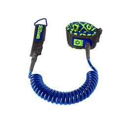35309.160600.410  - Mystic SUP Coiled Leash 10ft (300cm) navy