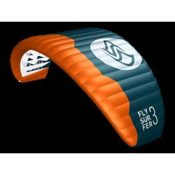 FKPE4gebr  - Flysurfer PEAK4 incl Bar schoolkite used
