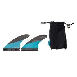 44200-8019  - Duotone TS-M Front Fins (pair) -black - M