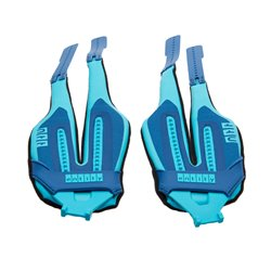 Duotone Entity Snap Strap (pair) - grey-turquoise