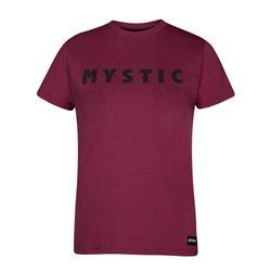 Mystic Brand Tee Women burgundy