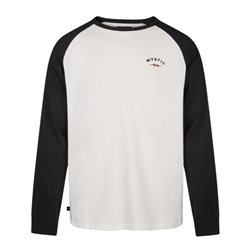 Mystic The Zone L/S Men black white