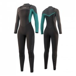 35000.210075  - Mystic Diva Fullsuit 5/3mm FZip black mint