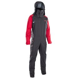 ION - Fuse Lightweight Drysuit FZ - d.olive/red/black
