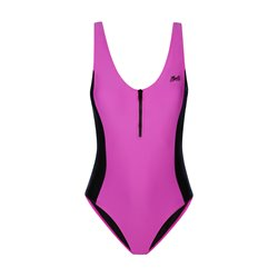 35109.210281  - Mystic The Wild Zipped Swimsuit black/pink