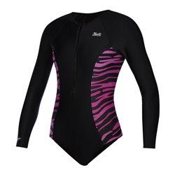 35109.210282  - Mystic Diva LS Swimsuit black/pink