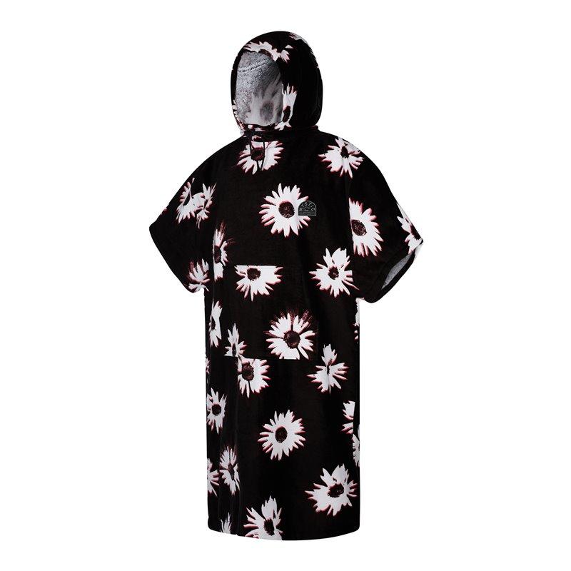 35018.210134  - Mystic Poncho Velour black/white