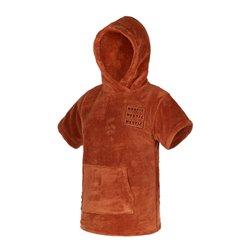 35018.210136  - Mystic Poncho Teddy Kids rusty red