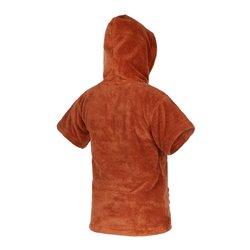 Mystic Poncho Teddy Kids rusty red