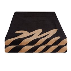 35018.210153  - Mystic Towel Quickdry black allover