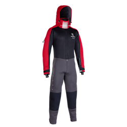 ION - Fuse Drysuit 4/3 BZ DL - black/red
