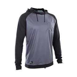 ION - Wetshirt Hood Men LS - steel blue/black