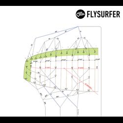 FABS1P  - Flysurfer Galerieleinensatz für PEAK4