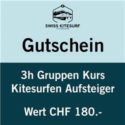 GG-KSAG  - Voucher kitesurf advanced course group 3 hours