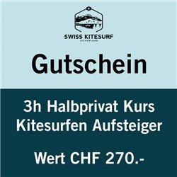 GG-KSAHP  - Voucher kitesurf intermediate course semi-private 3 hours