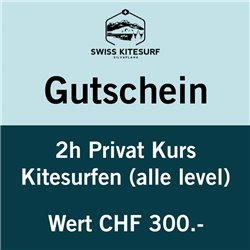 GG-KSP2  - Voucher kitesurf advanced course private 2 hours
