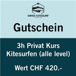 GG-KSP3  - Voucher kitesurf advanced course private 3 hours