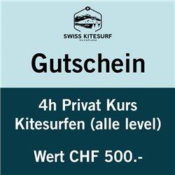 GG-KSP4  - Voucher kitesurf advanced course private 4 hours