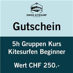 GG-KSB  - Voucher kitesurf beginners course 1 day / 5 hours
