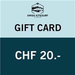 GG20  - Voucher CHF 20.-