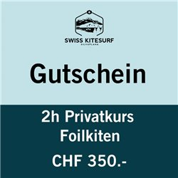 GG-KSPF2  - Voucher foilkite course private 2 hours