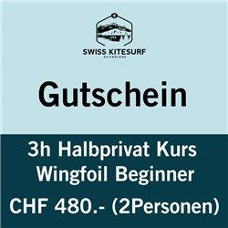 GG-WFHPB  - wingfoil beginner course semi-private 2 hours voucher