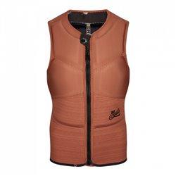 Mystic Diva Impact Vest Fzip Kite Women rusty red