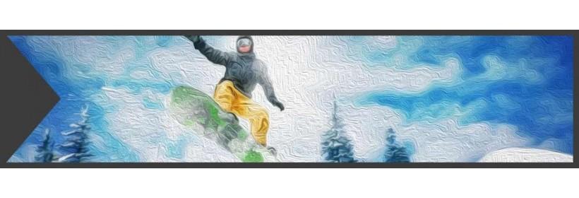 Snowboards, Bindungen und Snowboardschuhe