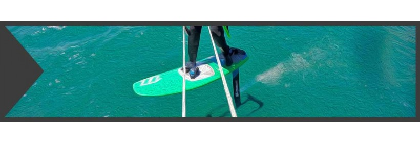 Directional Straps for Surfboards and Foilboards